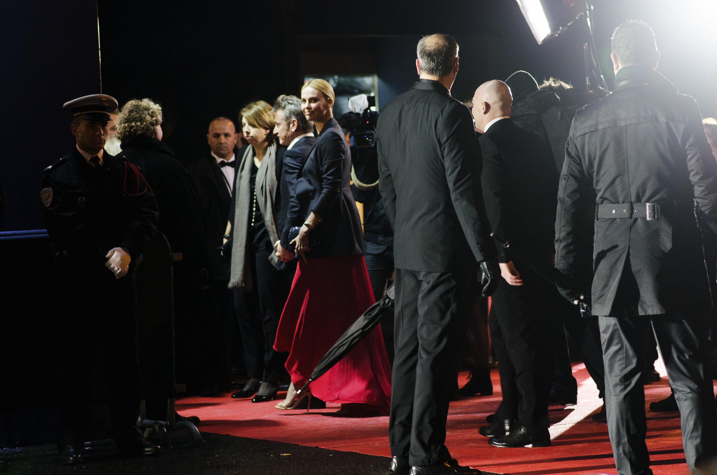 Sean Penn & Charlize Theron