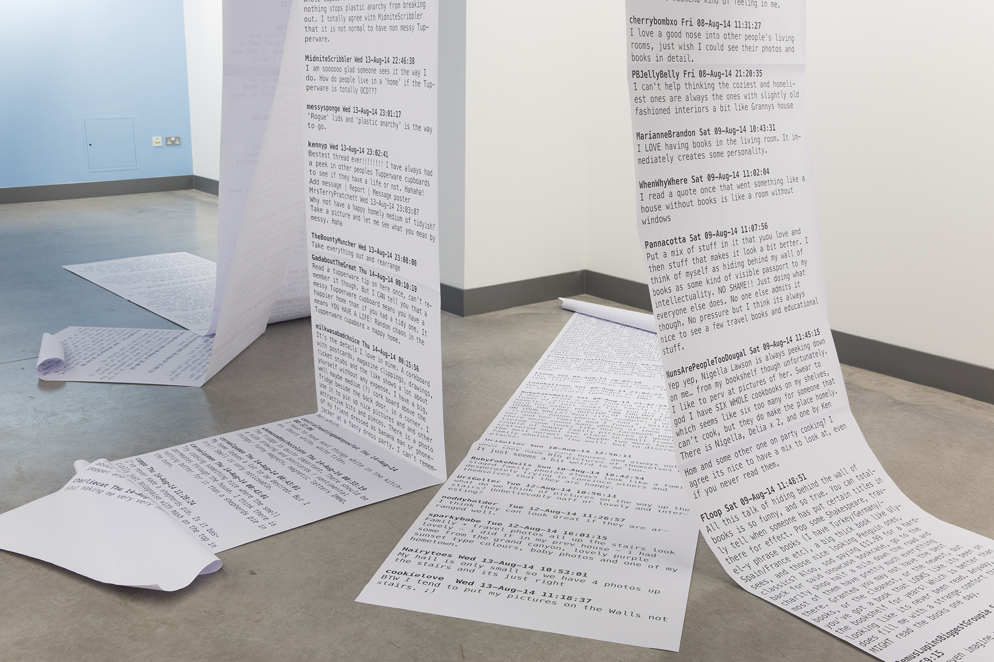 Home Instruction Manual, The Gallery, Belfast School of Art