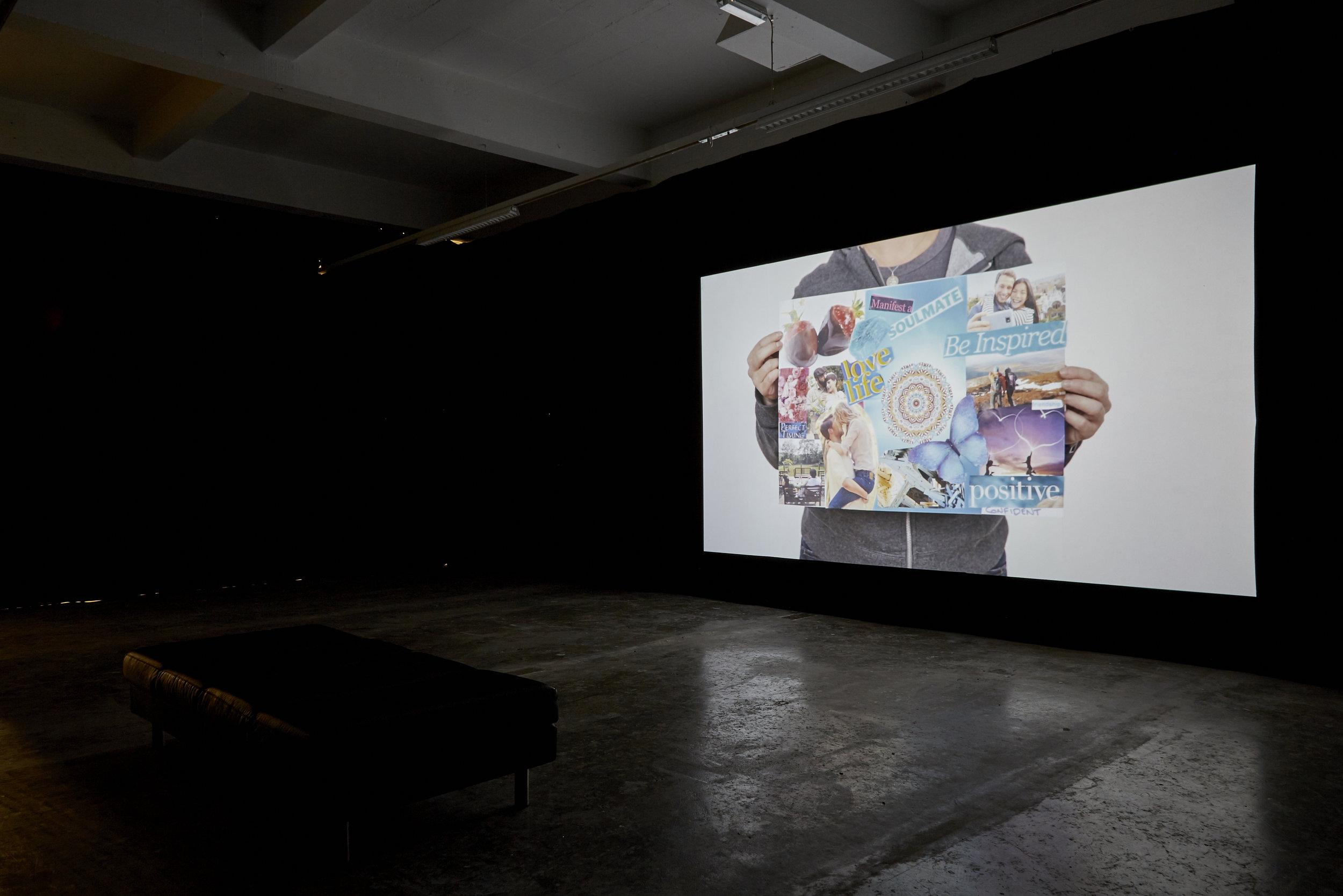 Installation, Golden Thread Gallery Belfast, as part of 'Dissolving Histories' (2019)  Installation Photograph - Simon Mills