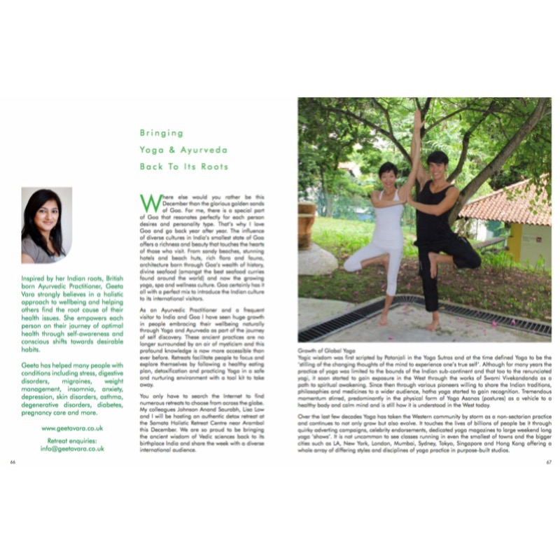 Taking Yoga & Ayurveda back to it's Roots