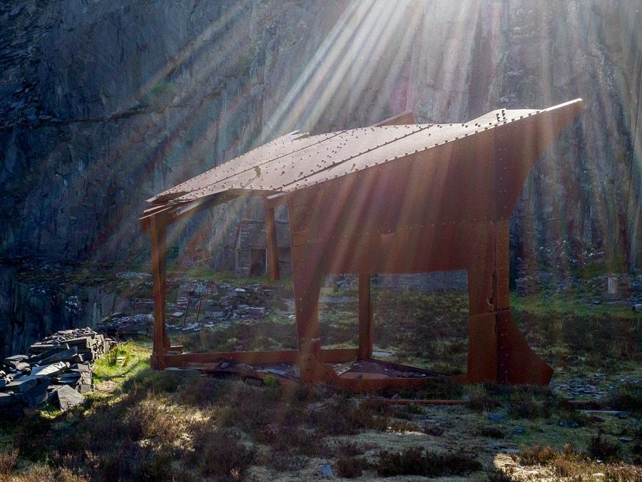 Dinorwic - Early Morning Light
