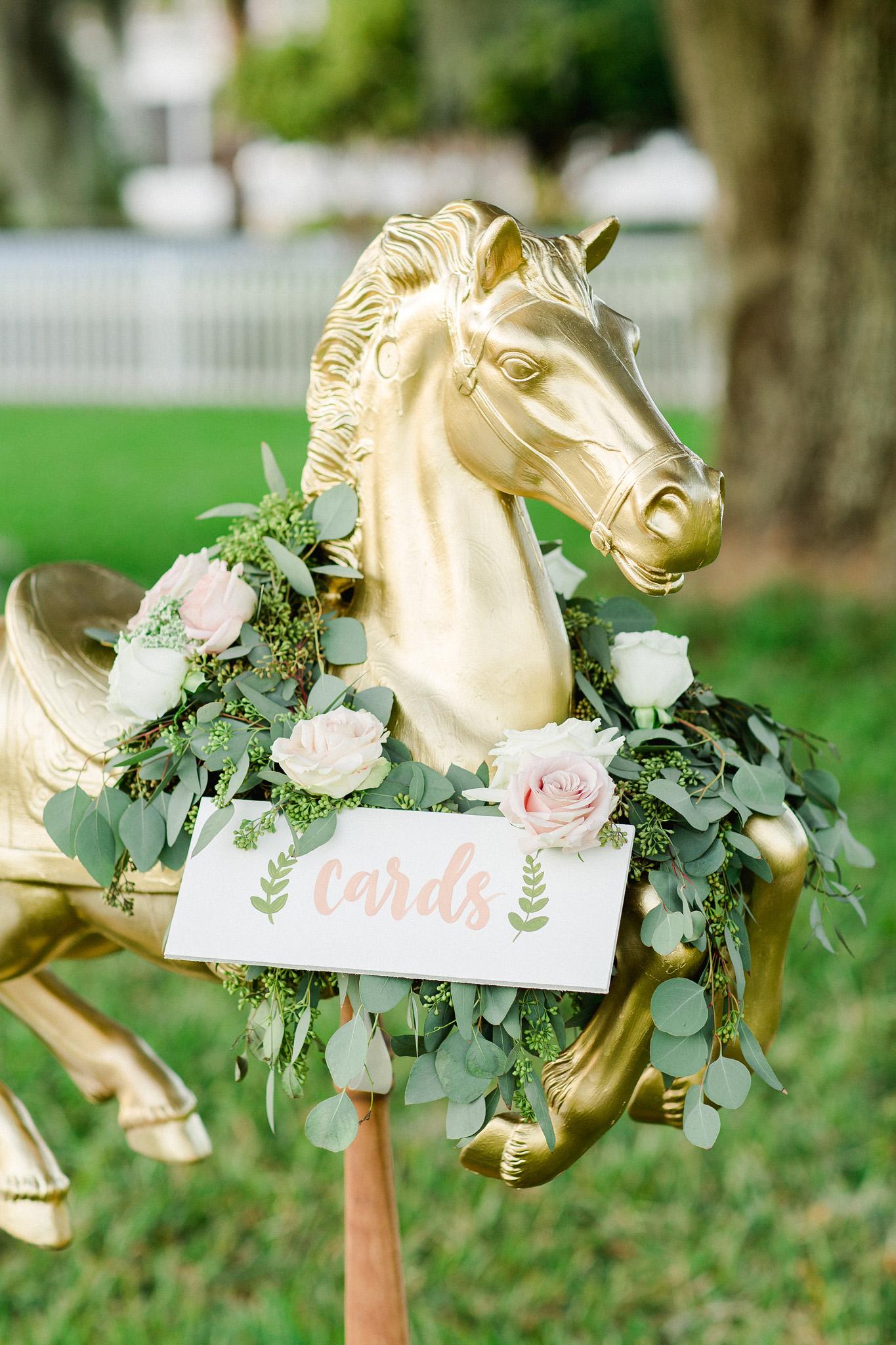 Creative Wedding Card Holder