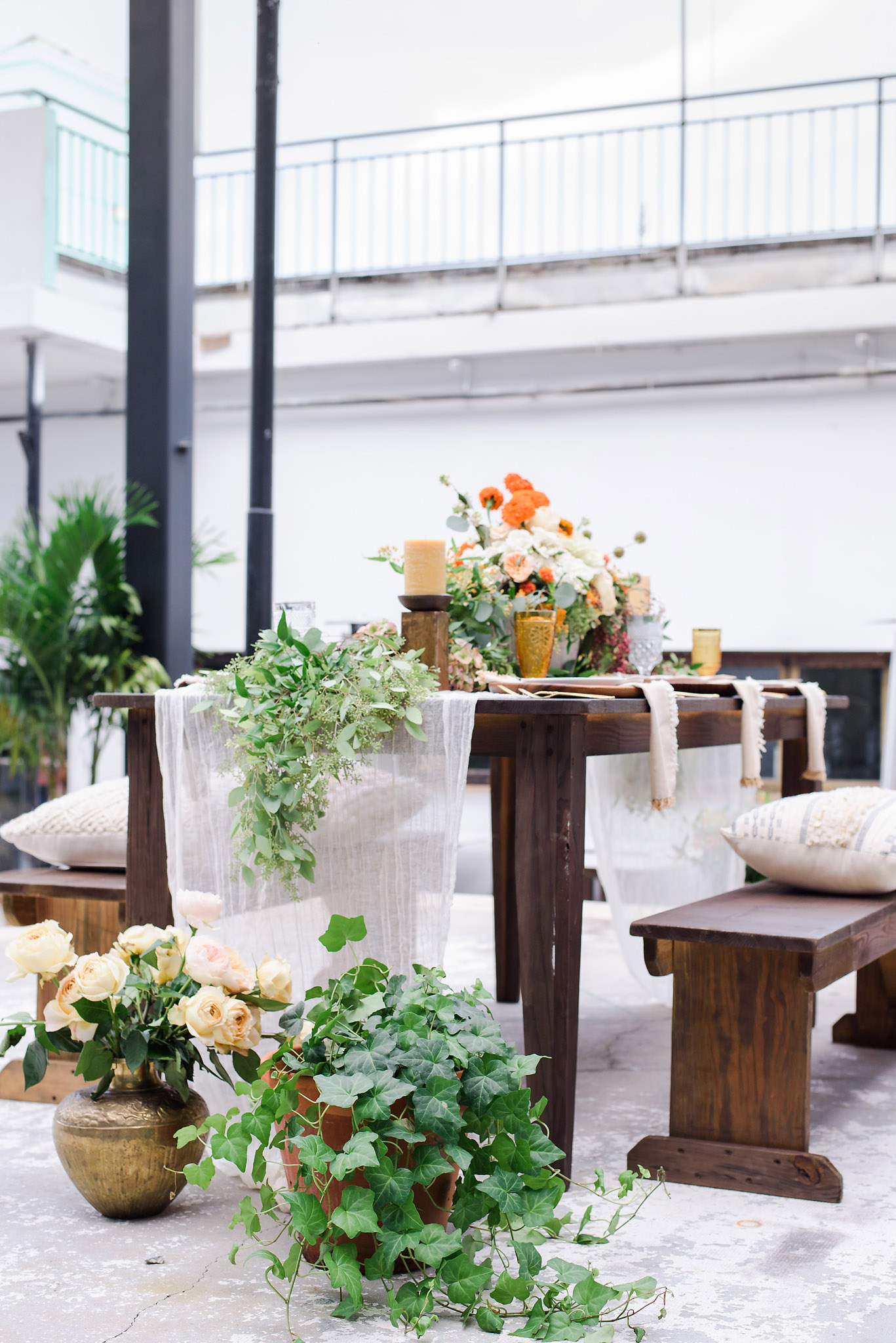 Industrial Boho Wedding