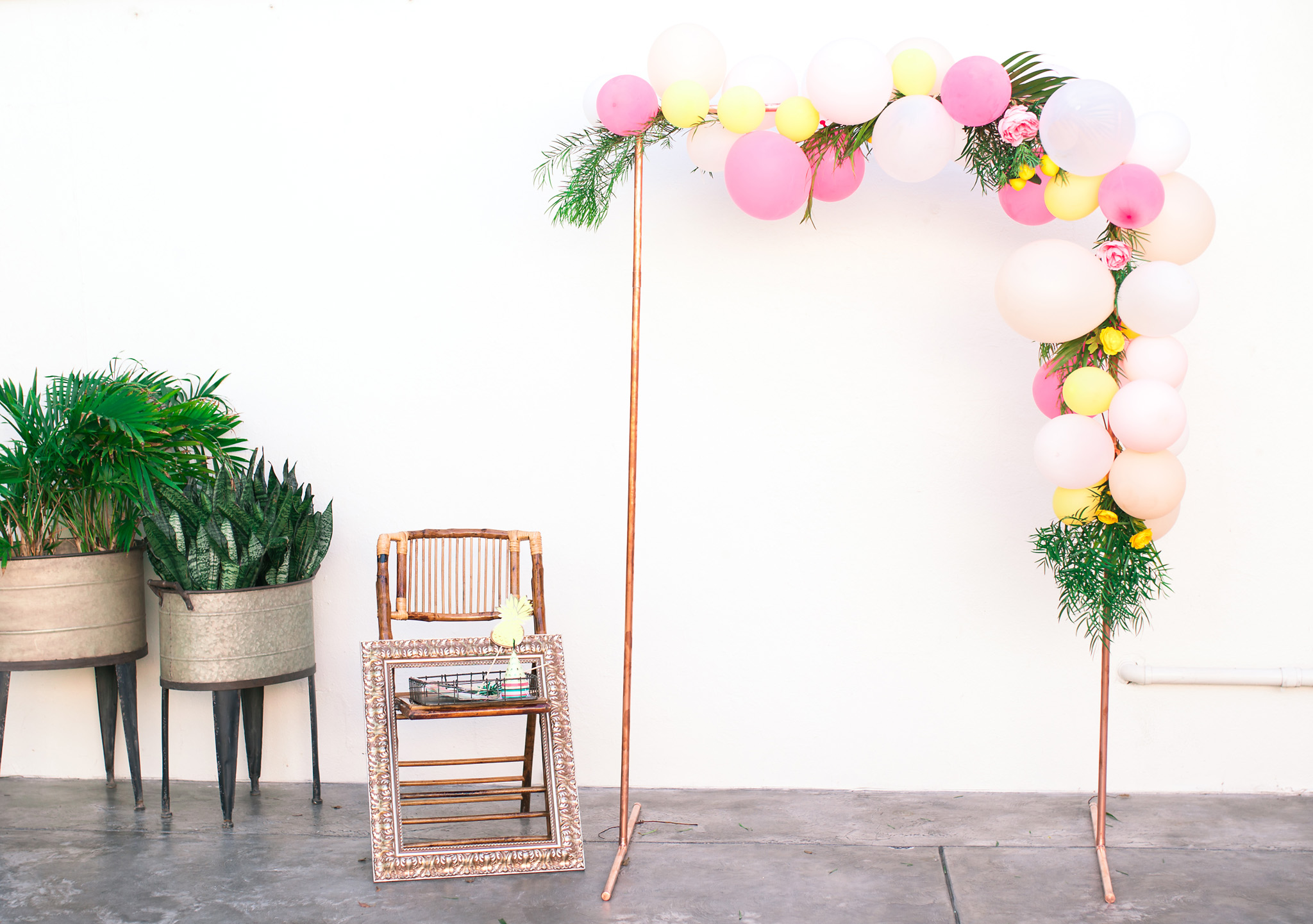 Copper Pipe Photobooth
