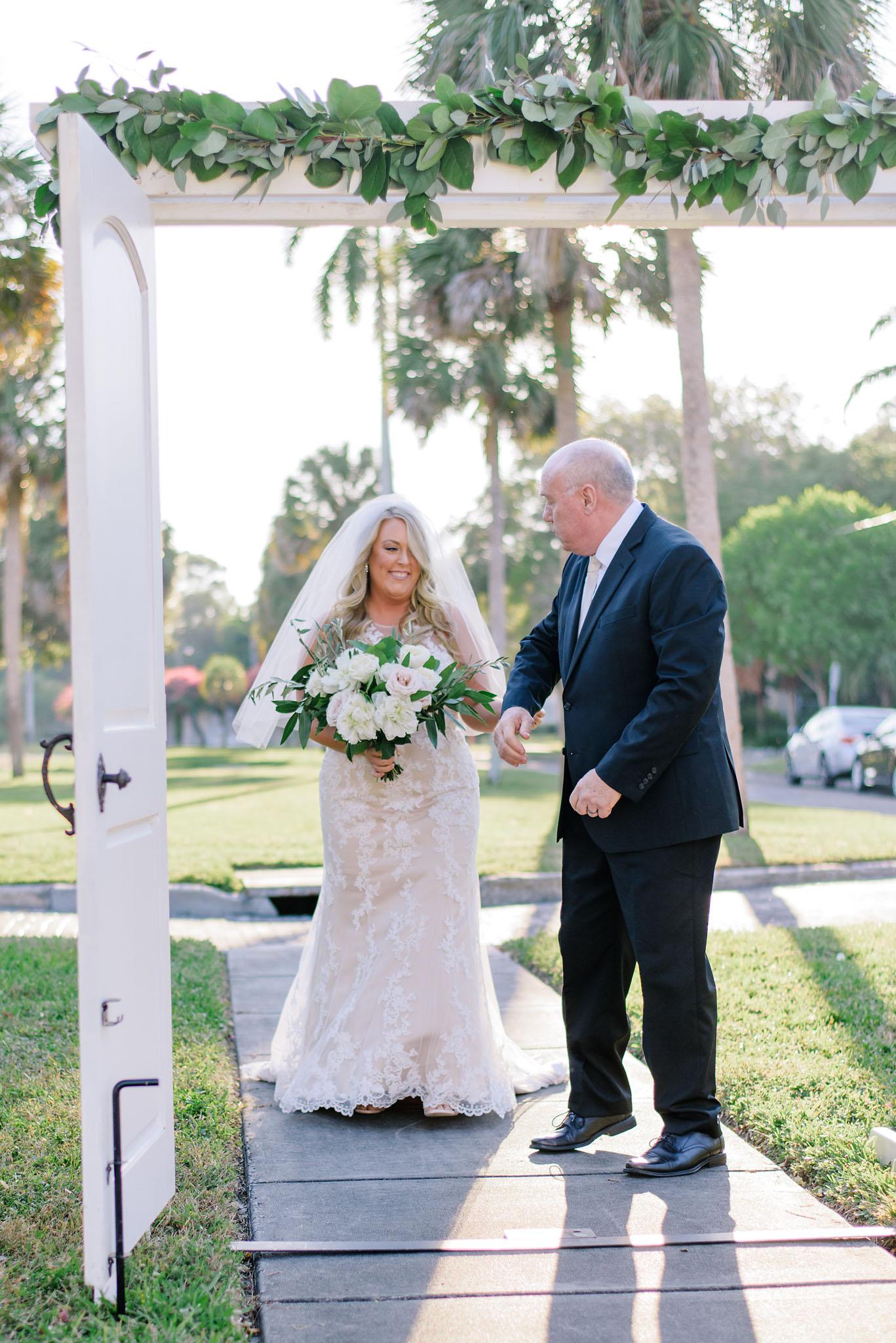 wedding white doors