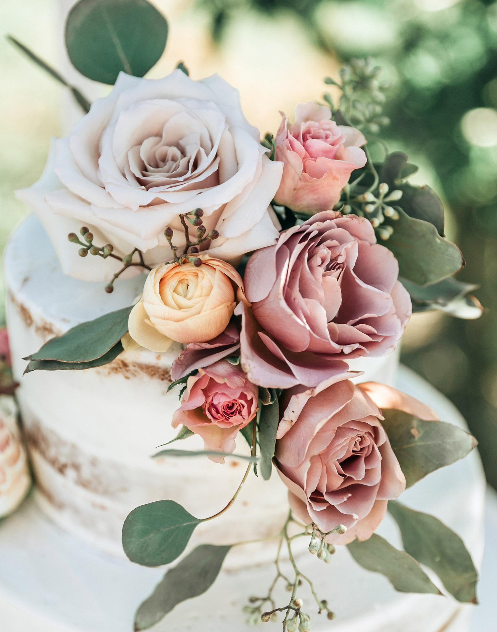 Dusty Mauve Wedding Flowers