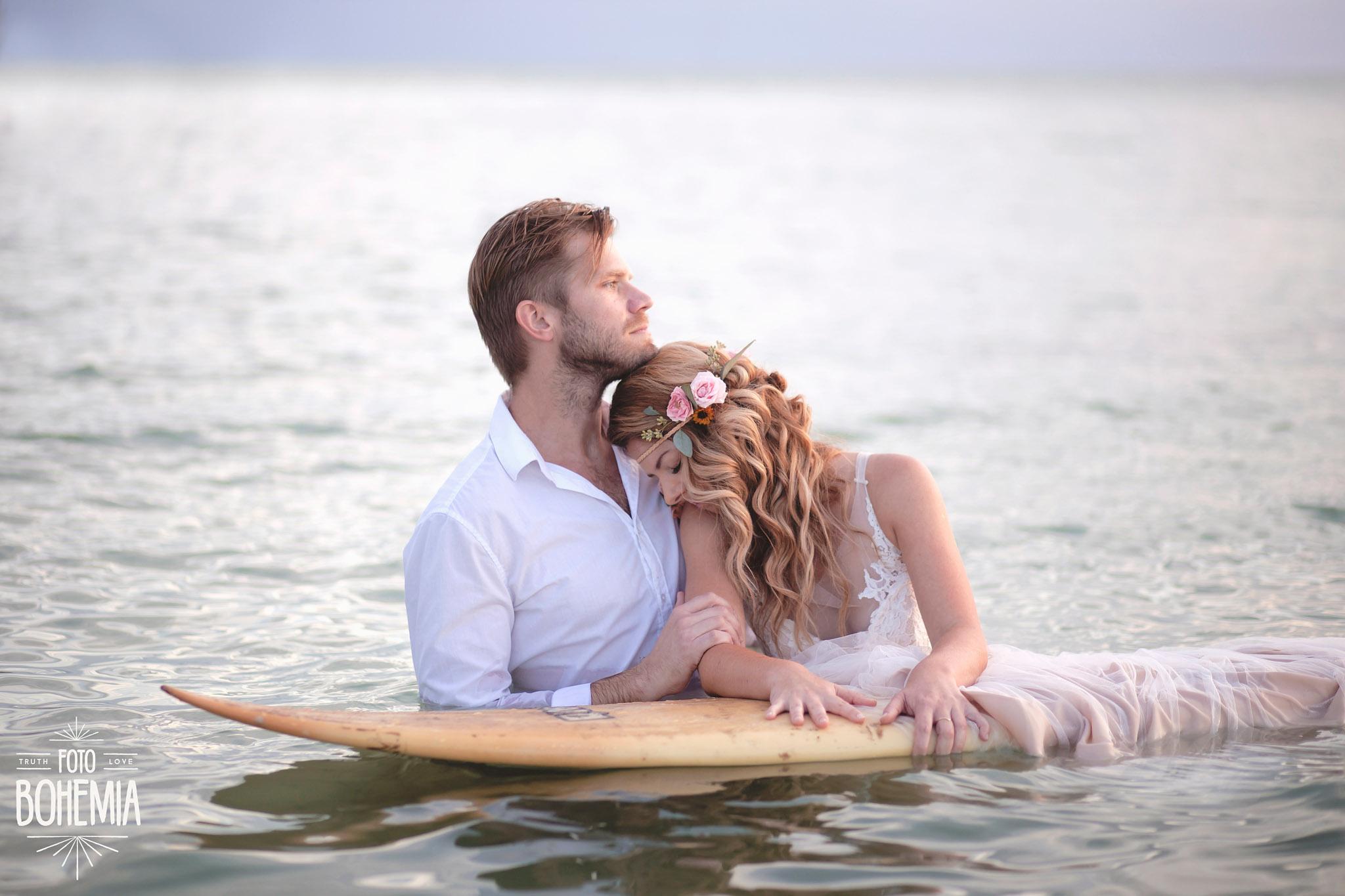 Surfboard Wedding