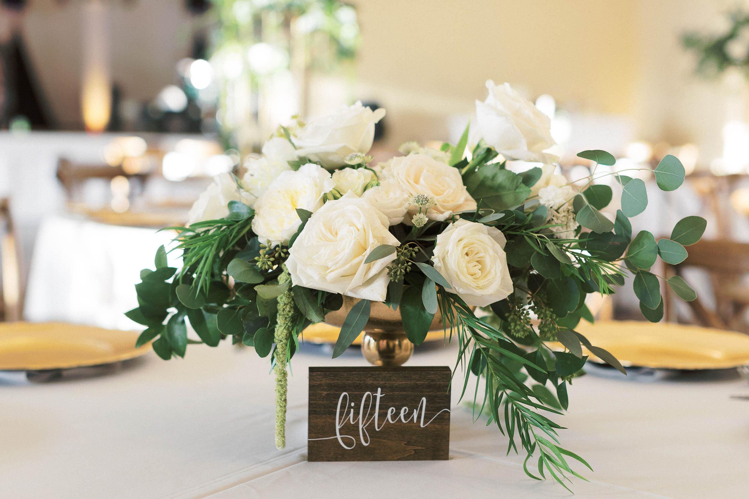 Timeless Wedding Centerpiece