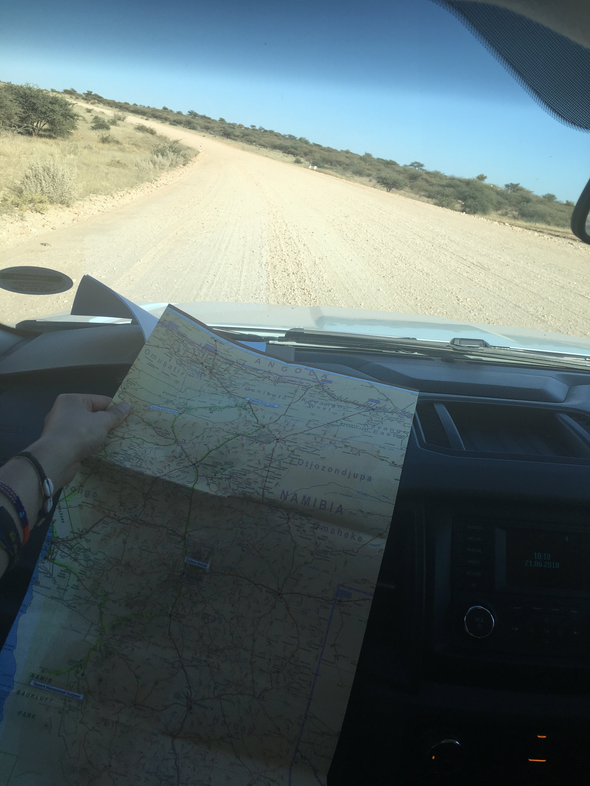 Stage 1 - From Galton House to the Namib Desert