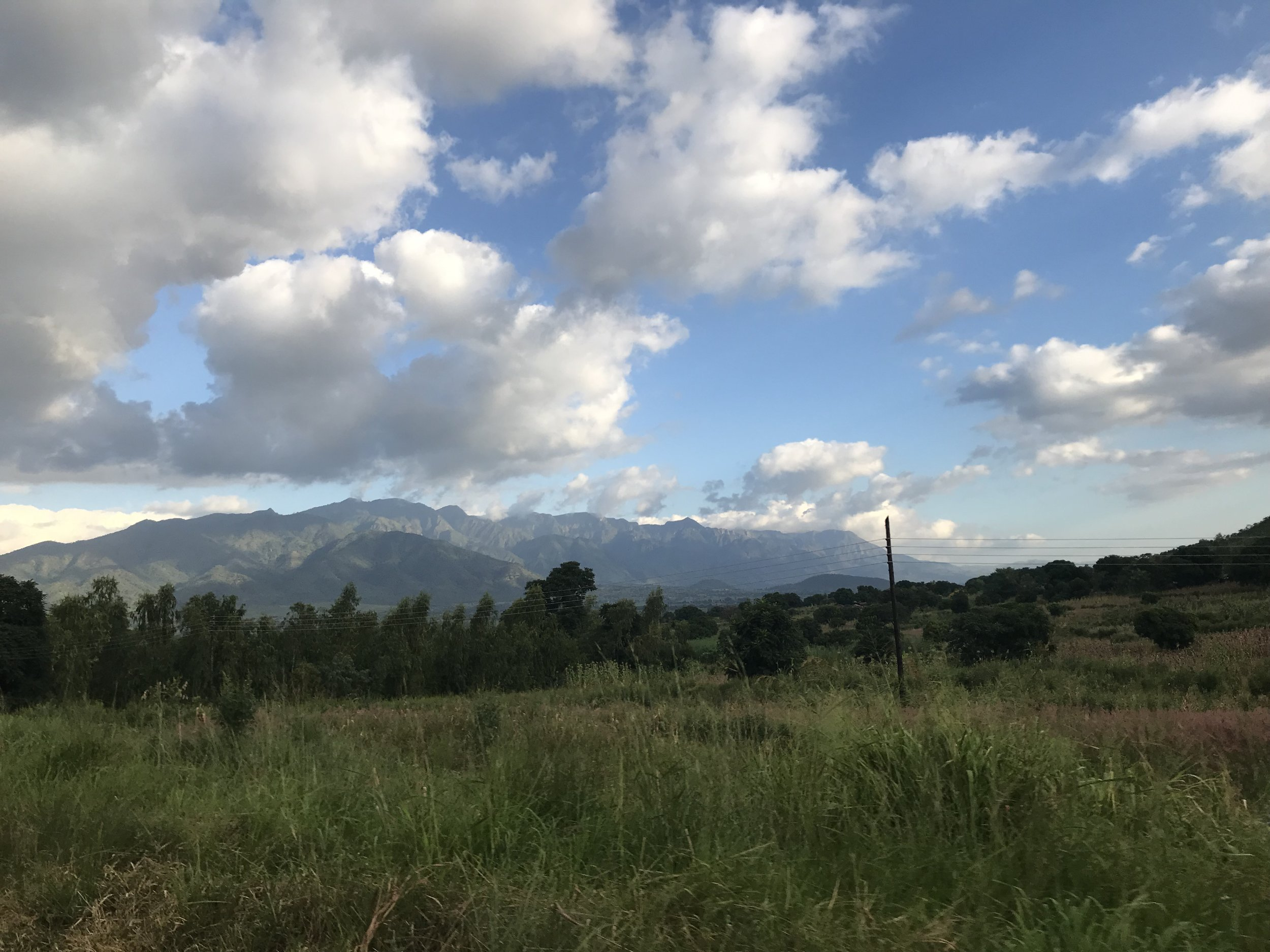 Zomba Plateau….