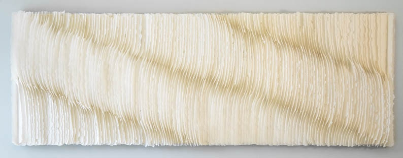 Deepening Journey  9' x 3'  | Handmade paper | Kandis Sousol