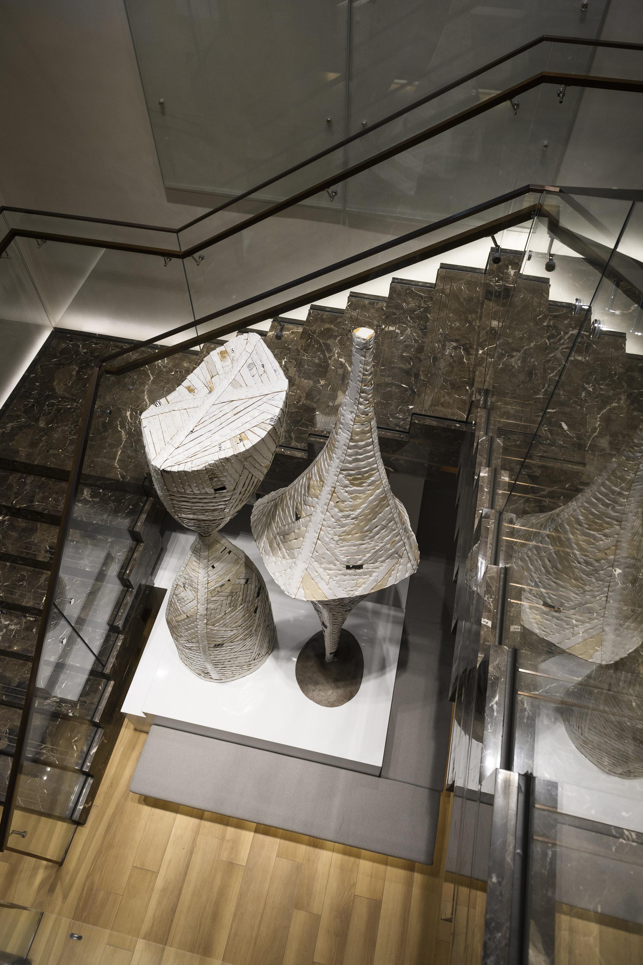 Top View: Sculptures