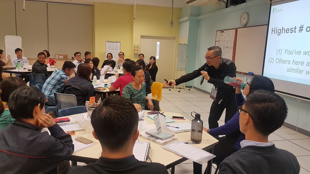 StrengthsQuest for Key Personnel @ Dunman High School