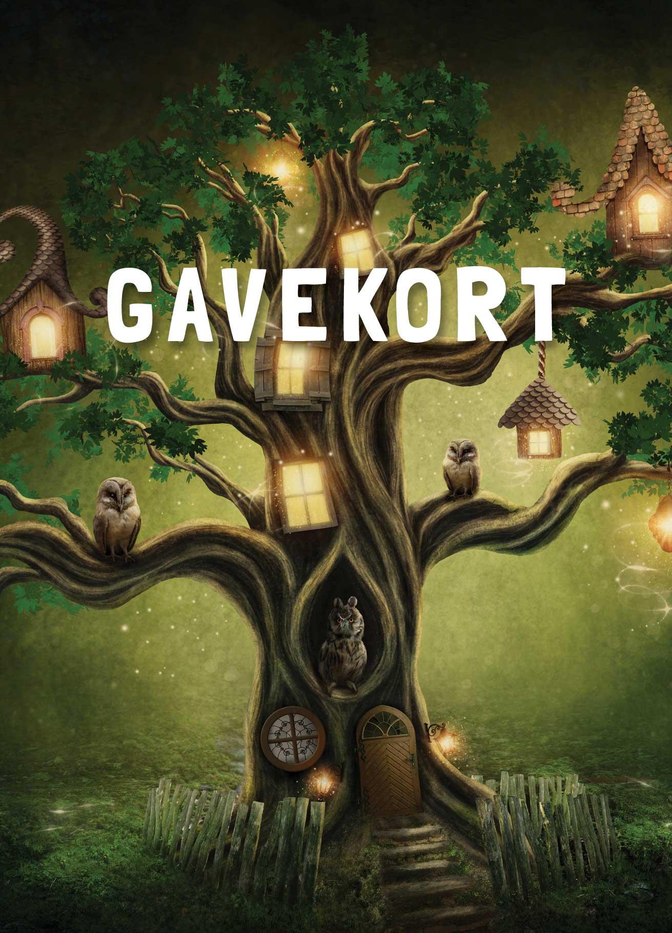 Gavekort forside