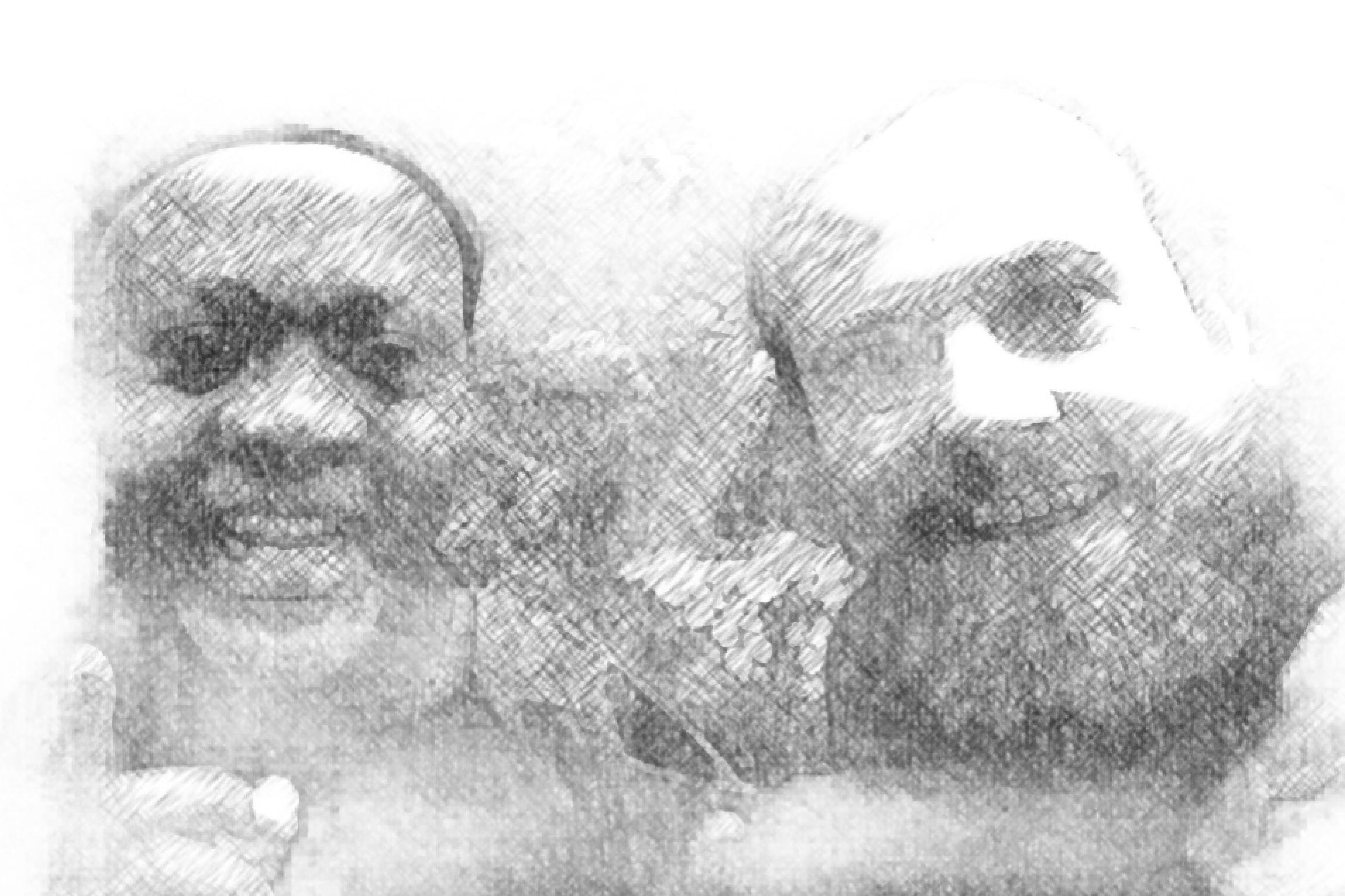 Raymond Sereba og Alf Martin Lie