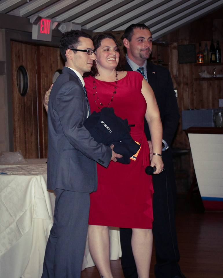 Left to right: Jason, Angie & Demetri.