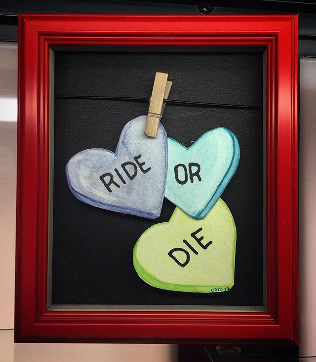 Y NOT 🤷🏼♀️ #Conversationhearts #valentines #watercolor #happyvalentinesday #vtk #virtuosotattookrew #qdrenewaldesign