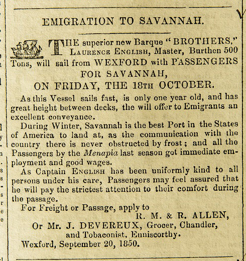 Wexford Independent  (7 September 1850)