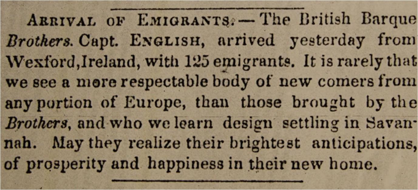 Savannah Daily Morning News  (6 December 1850) p. 2