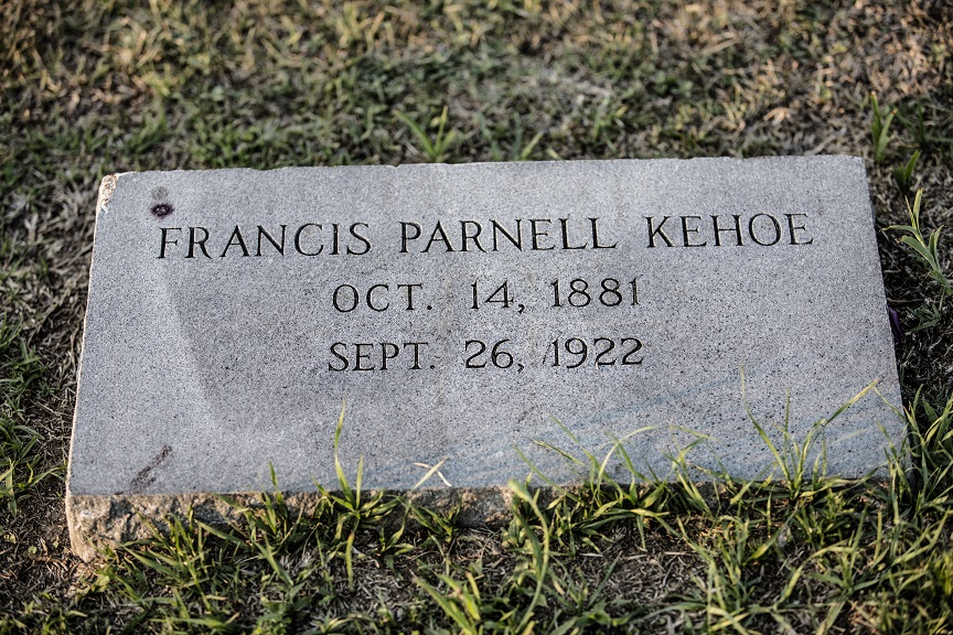 francis-parnell-kehoe-grave