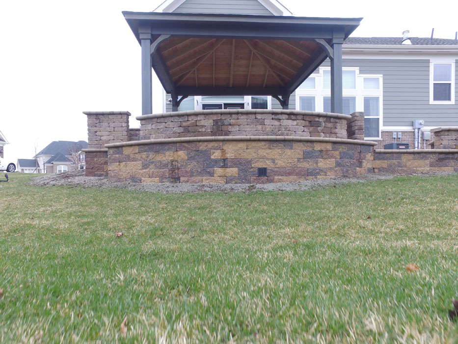 Fry Retaining Wall and Pavilion