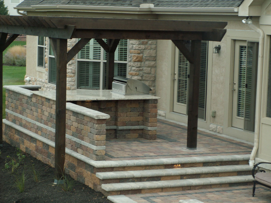 Byrd Retaining Wall and Steps
