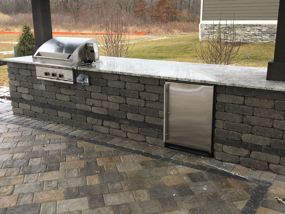Maiolo Custom Outdoor Kitchen