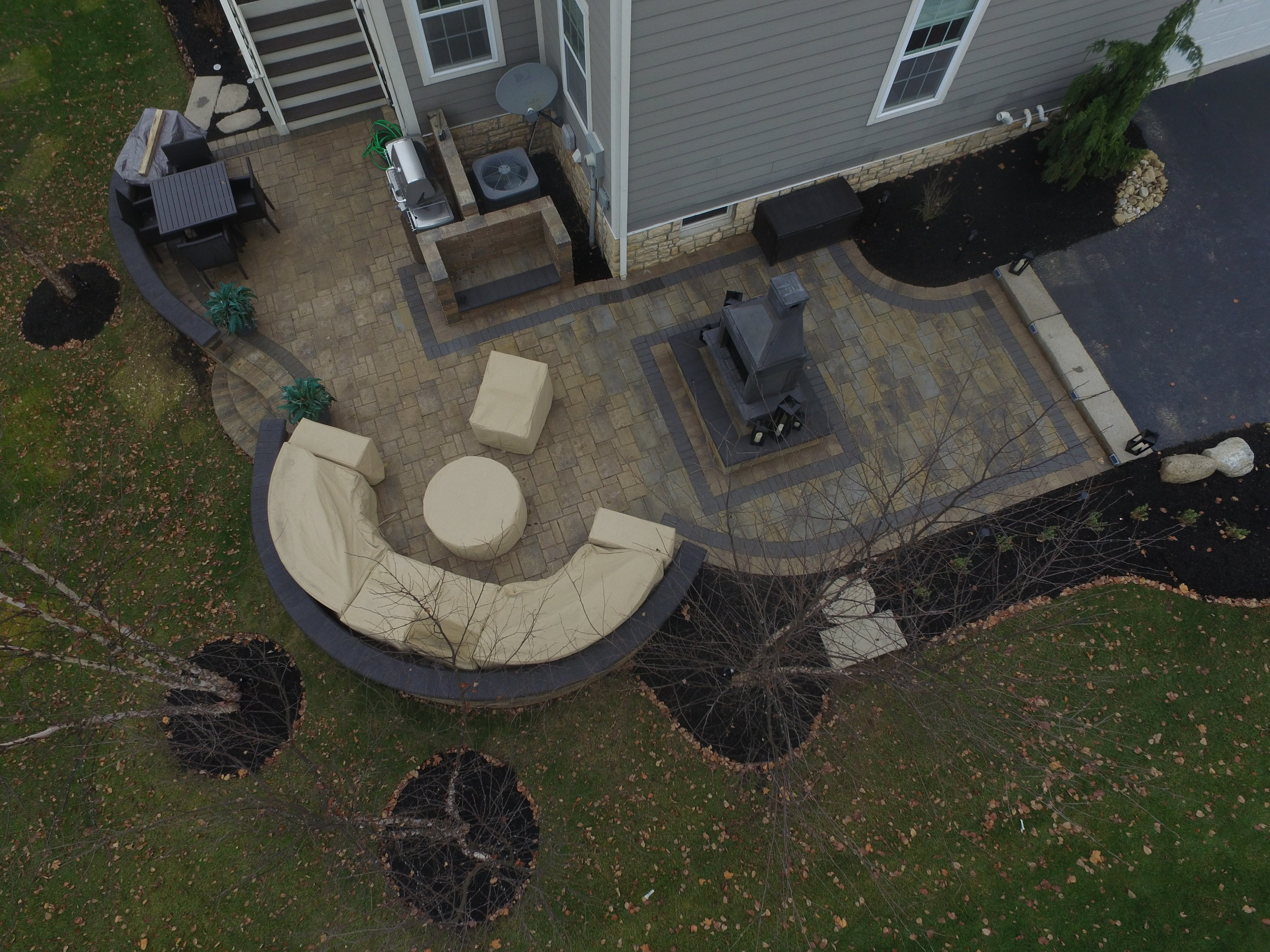 Peterson New Albany Paver patio 2017
