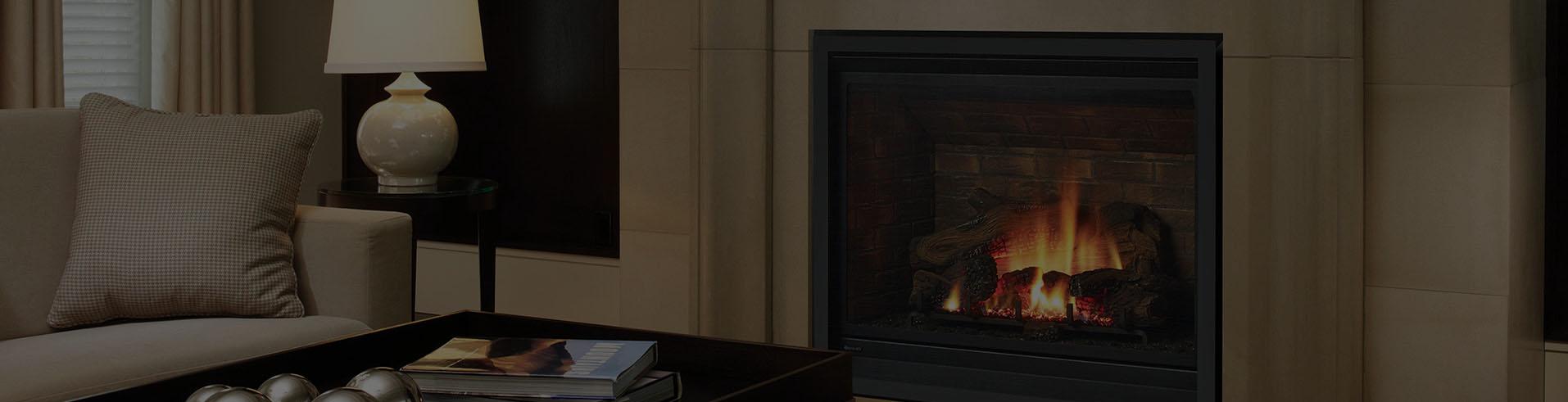 Above Photo of the Regency B41XTE Fireplace.