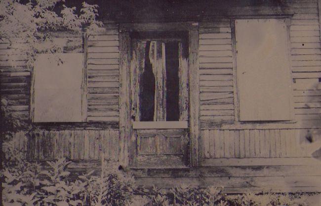 """Abandoned Places""  tintype  12"" x 15"""