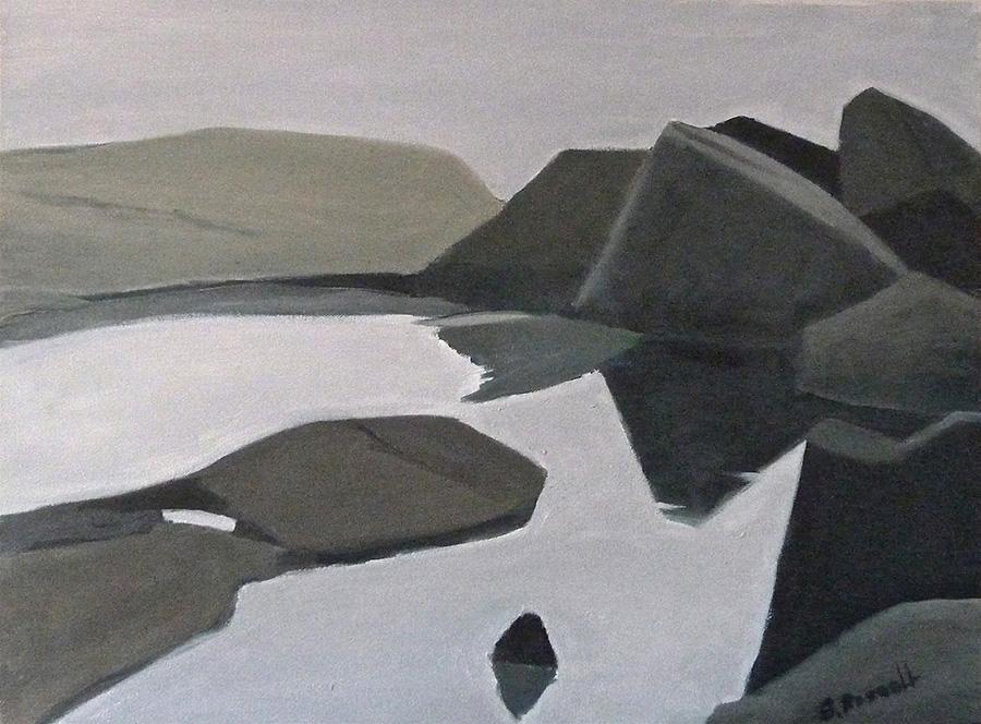 """""""Stillness"""" oil on canvas 24"""" x 18"""""""