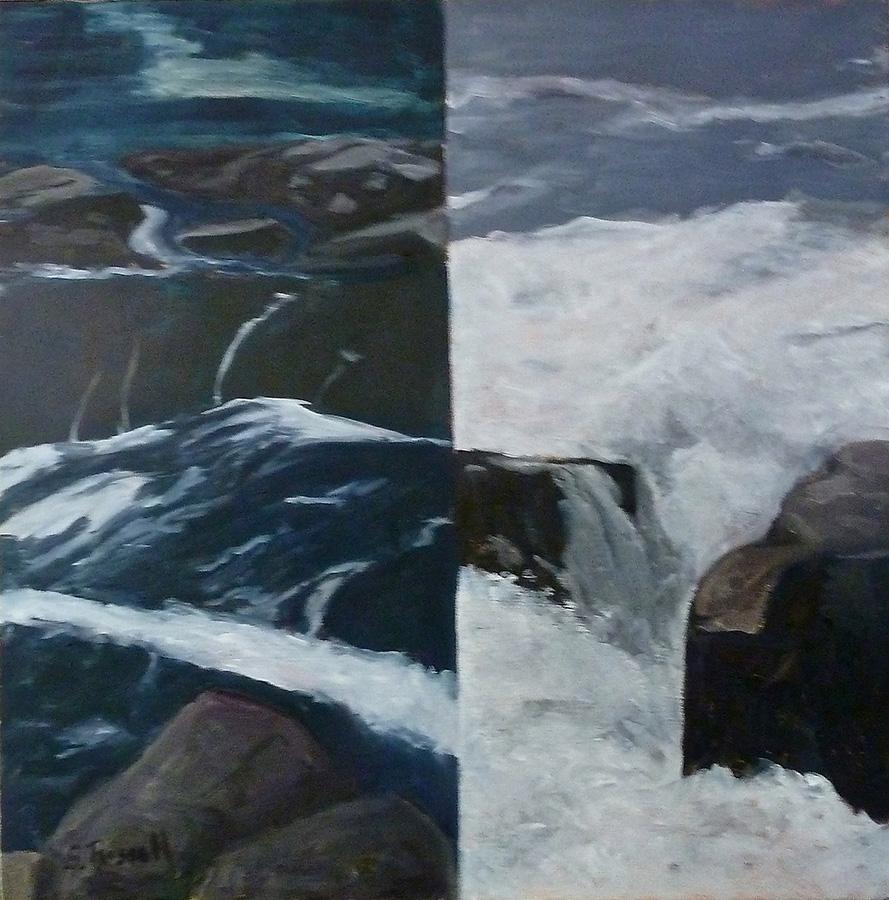 """Schoodic Reimagined II"" oil on canvas  24"" x 30"""