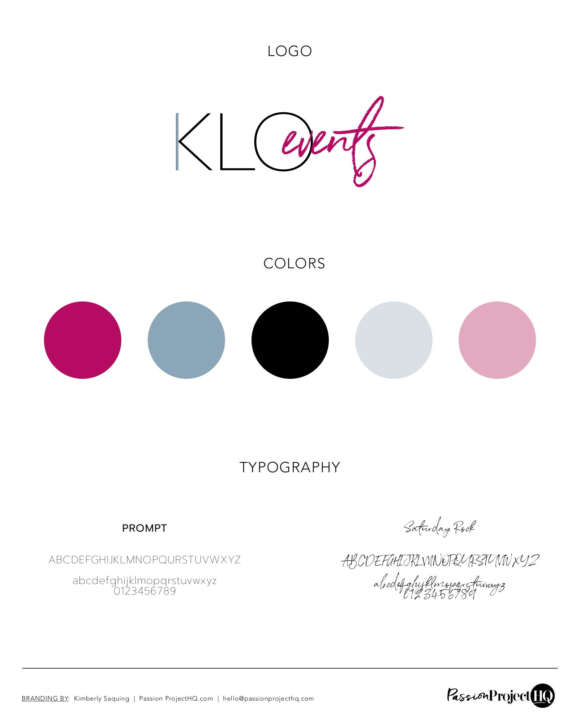 KLO Events  Kim Otis Passion Project HQ branding logo website Kimberly Saquing brands for creatives websites for life coaches San Francisco Bay Area .png