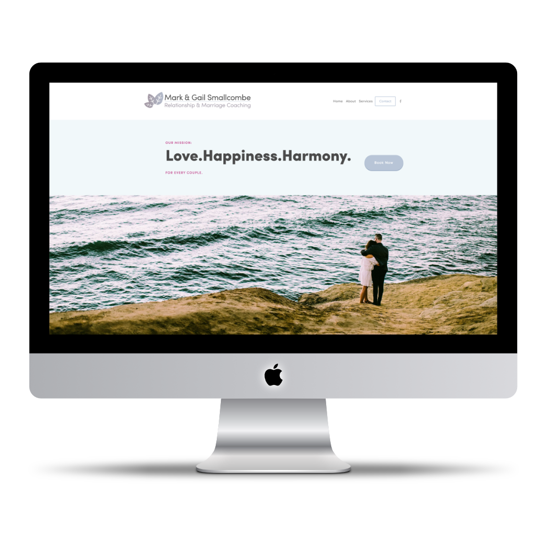 Marriage Coaching San Francisco Smallcombe Saquing Passion Project HQ website design