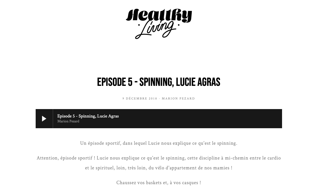 healthy living podcast-episode 5