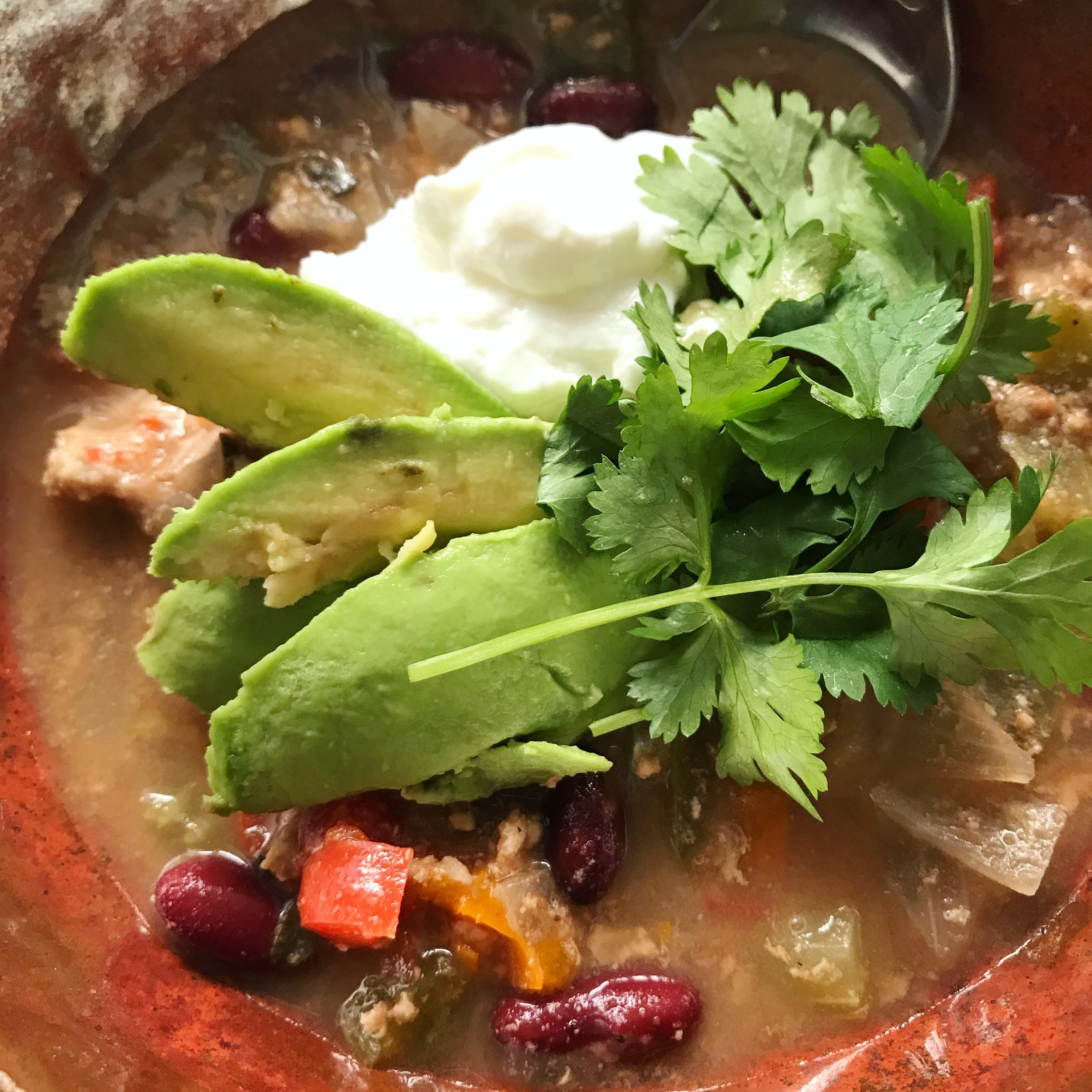 Turkey Veggie Chili || goodfortheswole.com
