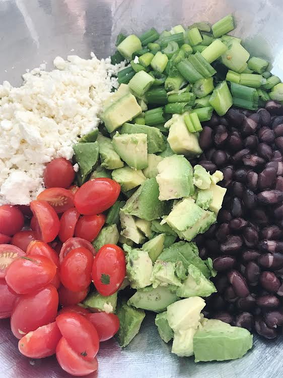 Chicken Quinoa Salad || goodfortheswole.com