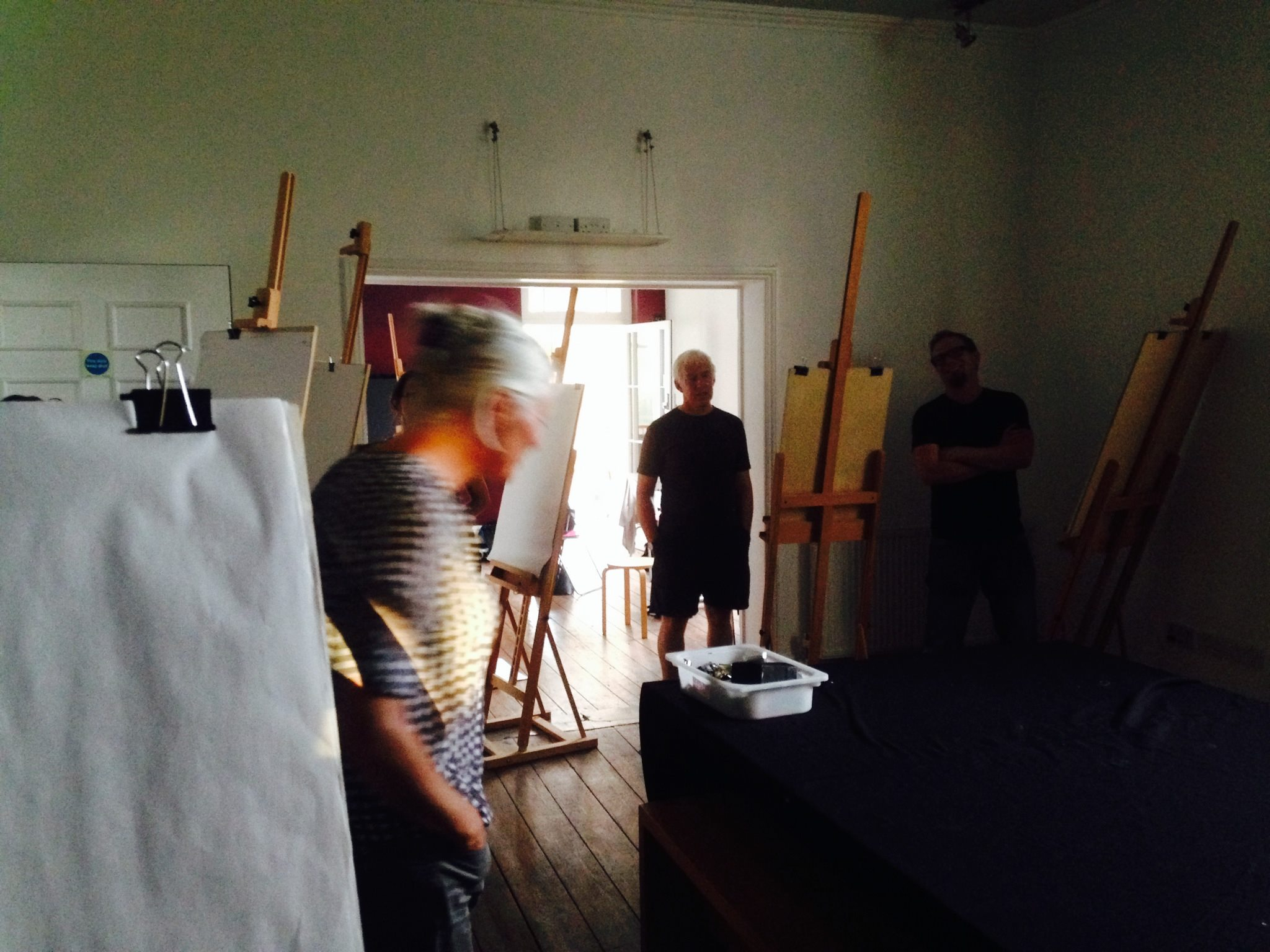 Life drawing session at  Metal  in Southend in 2016.