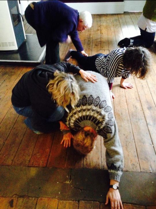 Performance workshop with visiting artist  Florence Peake  in 2017.