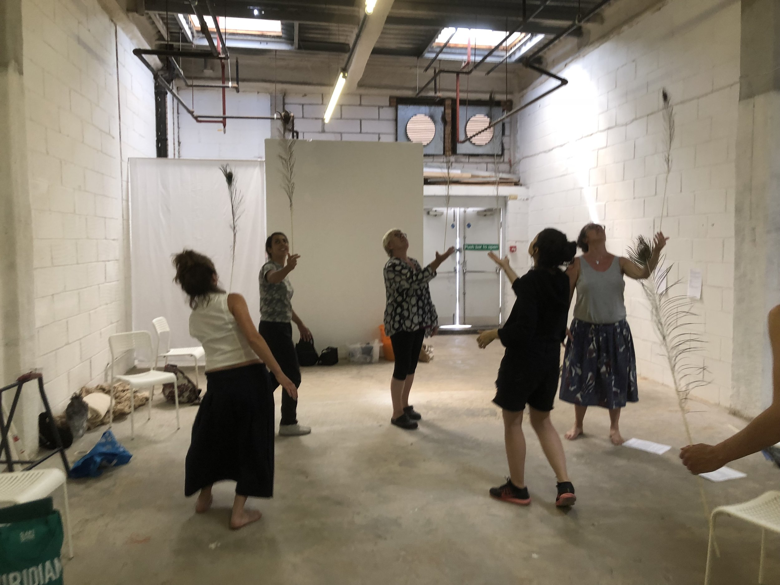 Drawing workshop at  TOMA Project Space  with  Aisling Hedgecock  in 2018.