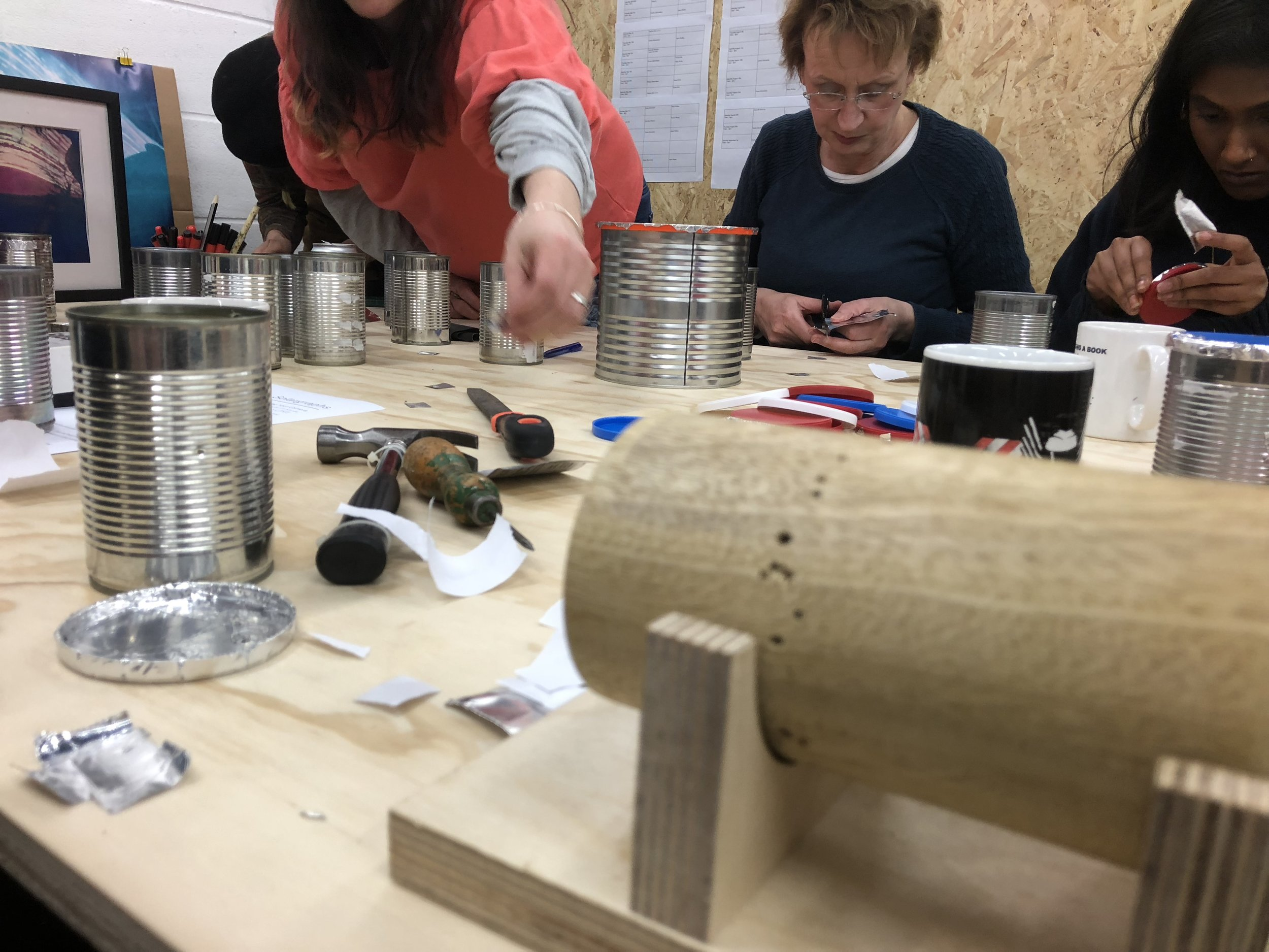 Solargraph workshop at  TOMA  Project Space in 2018.