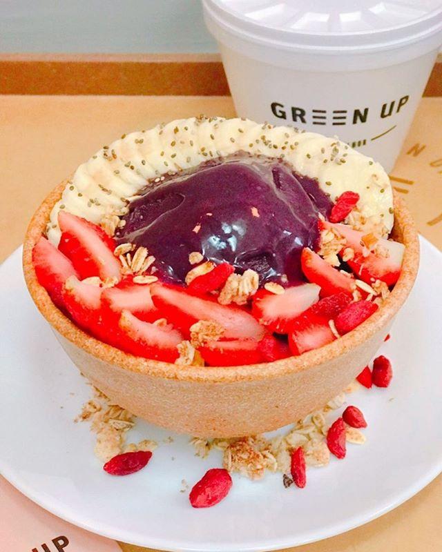 Verão combina com o quê? Açaí! Saboroso e adoçado com stevia, a nossa versão zero tem maior concentração da fruta deixando ele ainda mais gostoso. Você pode pedir ele nas nossas lojas ou pelo @rappibrasil. Sim! Retornamos com o nosso delivery. Aproveite! #EatGreenUp #GreenUpYourself #healthylife #comidasaudavelBH #comidasaudavelSP #vidasaudavel