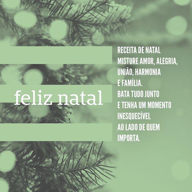 Desejamos à todos um Feliz Natal! #eatgreenup #Natal #Feliz Natal