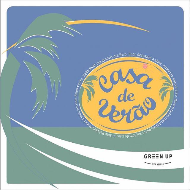 A Casa Conceito Green Up vai se vestir de #verão.⠀ ⠀ De 12/1 à 20/3 vamos ensolarar nossas experiências, com⠀ ações temáticas e eventos especiais.⠀ ⠀ Acompanhem tudo por aqui!⠀ ⠀ #eatgreenup