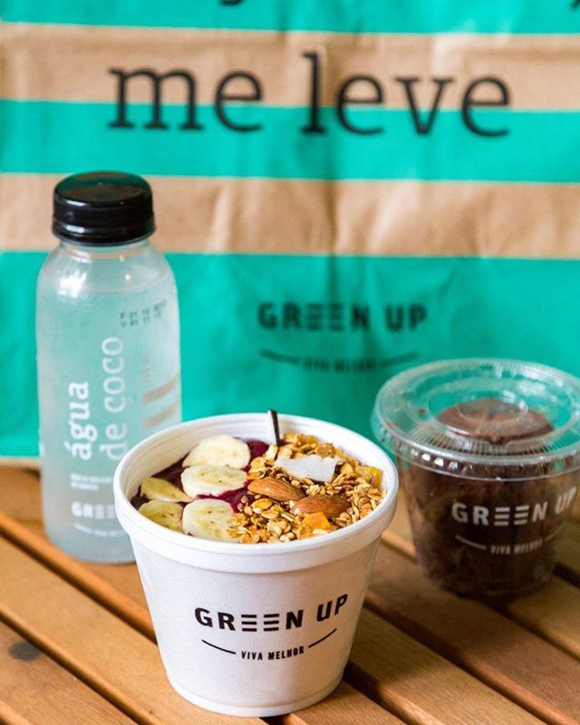 Tem comodidade maior do que receber os nossos pratos e produtos sempre frescos, aonde você estiver e a qualquer hora do dia? É só pedir pela @rappi.brasil. Corre lá e confira o nosso cardápio. #EatGreenUp #GreenUpYourself #healthylife #comidasaudavelBH #comidasaudavelSP