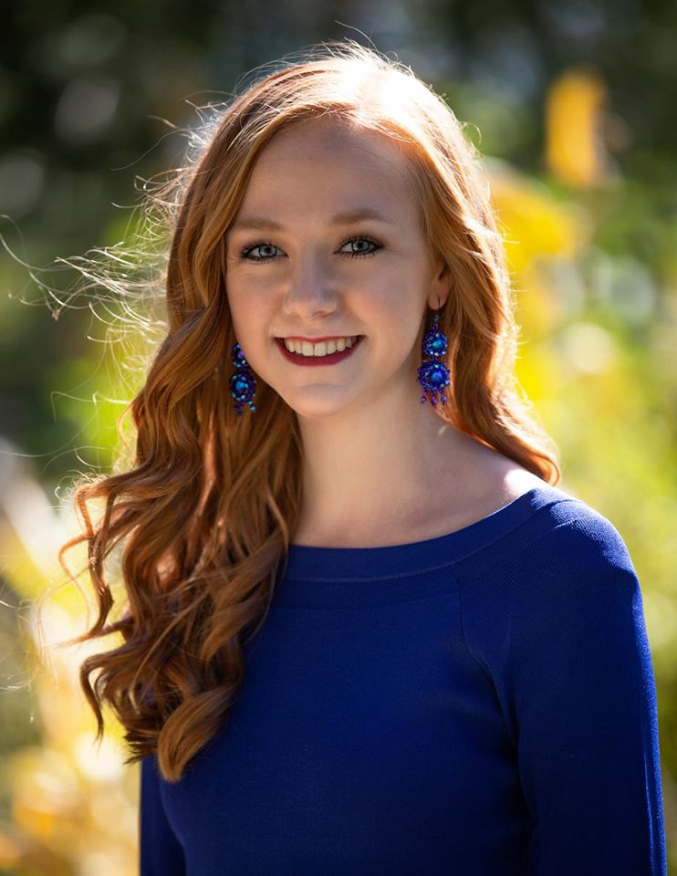 KATIE ESKILDSON MISS CITY OF SUNSHINE'S OUTSTANDING TEEN 2019 ACADEMIC AWARD MISS CONGENIALITY
