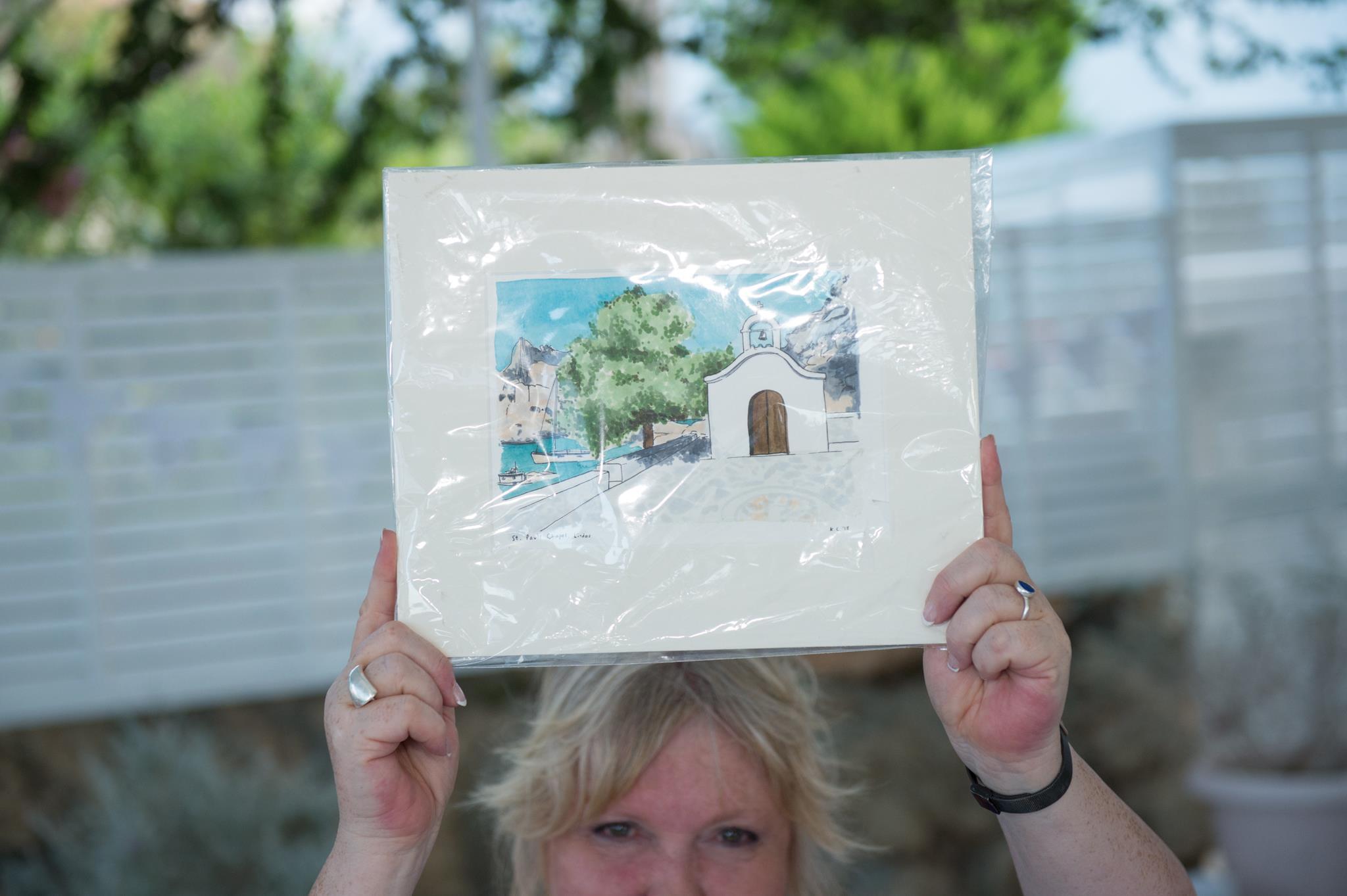 wedding venue illustrated portrait painting greece overseas katie chappell illustration.jpg