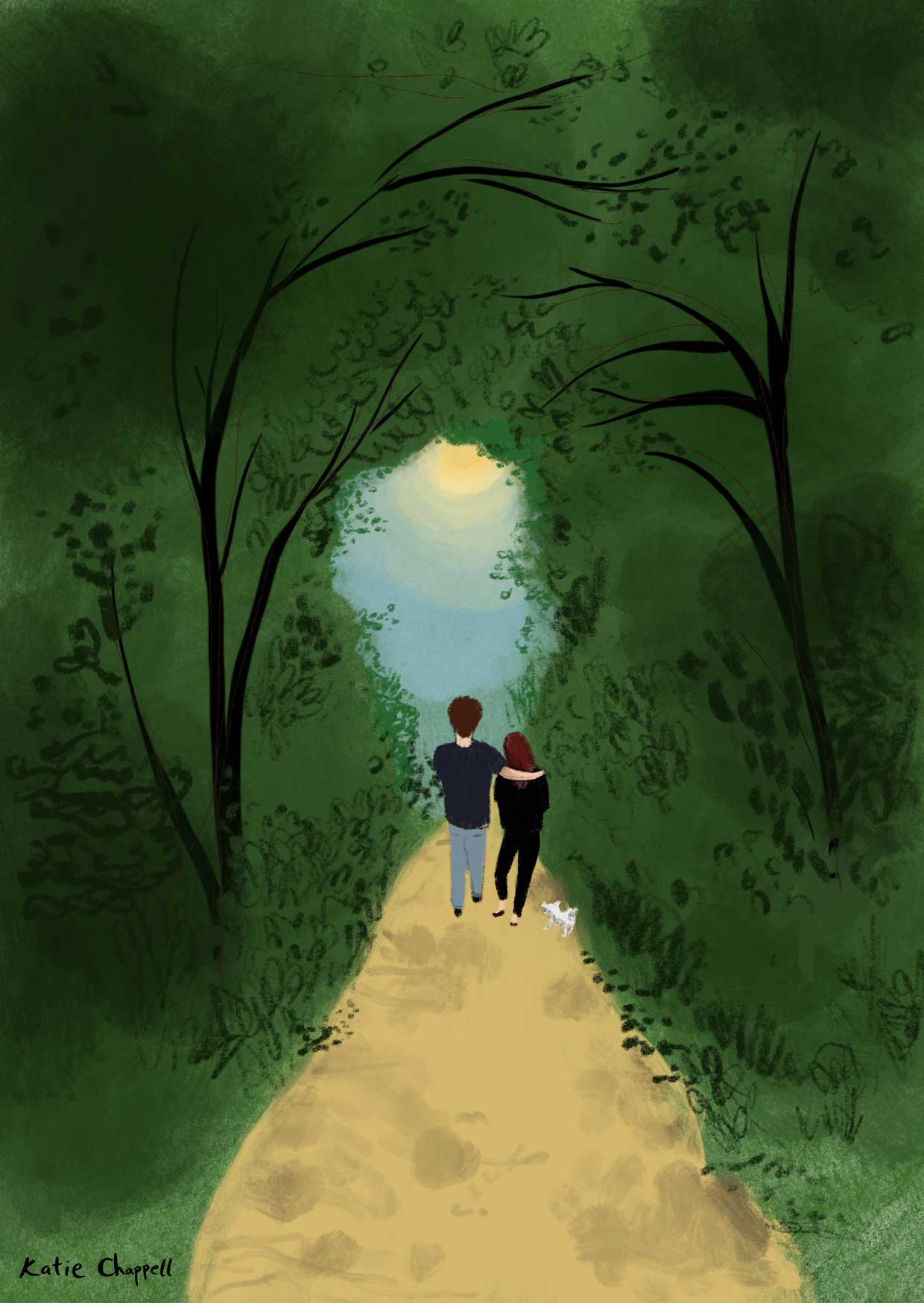 Walking_In_The_Woods-illustration-edinburgh-katie-chappell.jpg