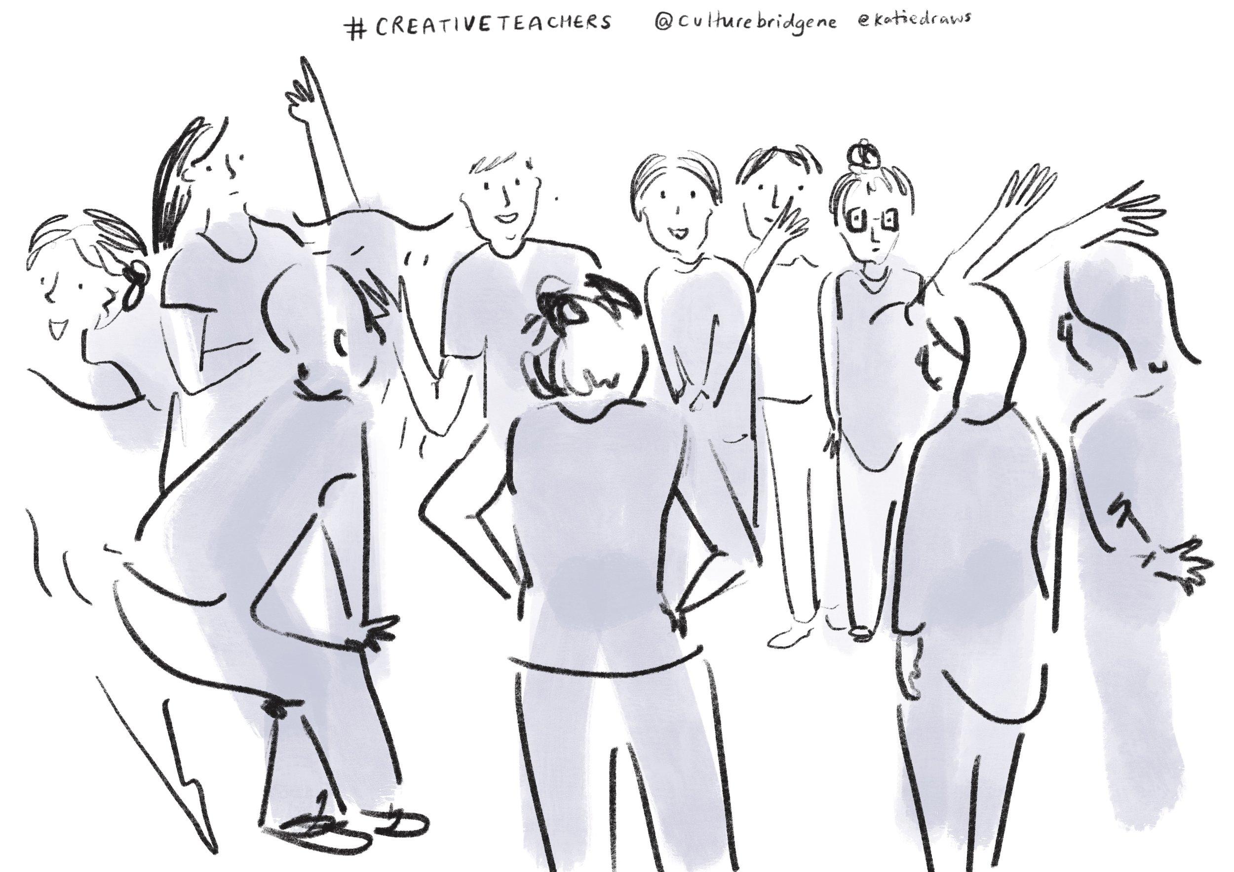 Big Creative Teachers Event - culture bridge north east England.jpg