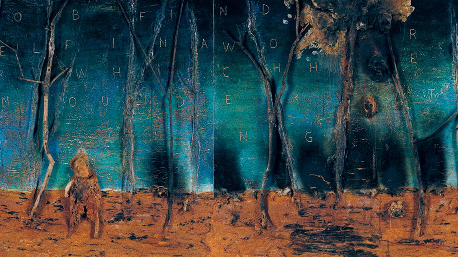 Artwork by David Lynch courtesy David Lynch Foundation